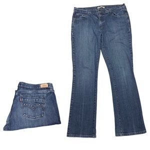Levi's 515 Bootcut Jeans With Studded Back Pockets